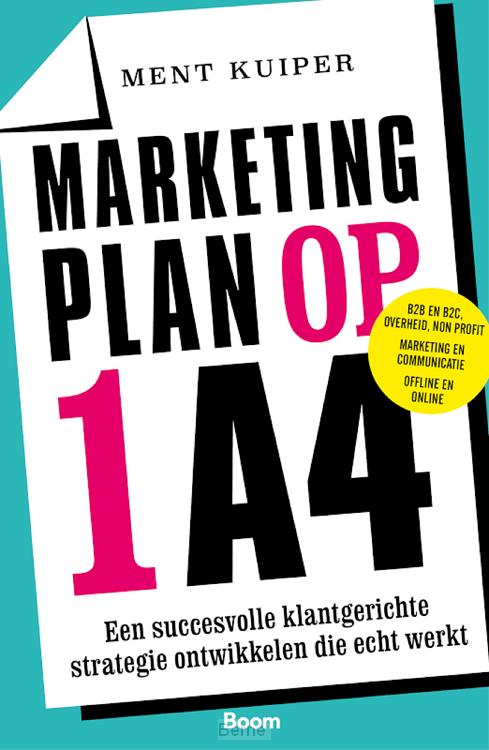 Marketingplan op 1 A4