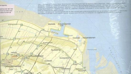 Bonnefooikaart set 6 ex. / Regio Groningen Drenthe