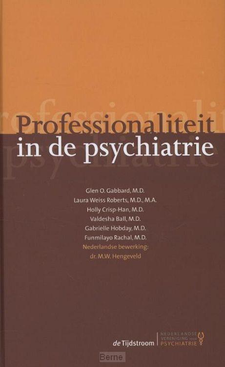 Professionaliteit in de psychiatrie
