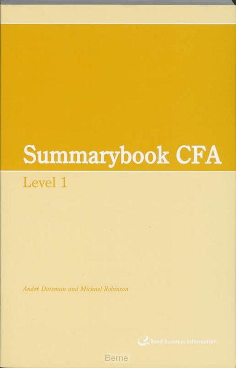 Summary CFA / Level 1
