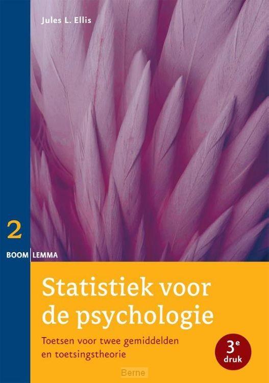 Statistiek voor de psychologie / Deel 2