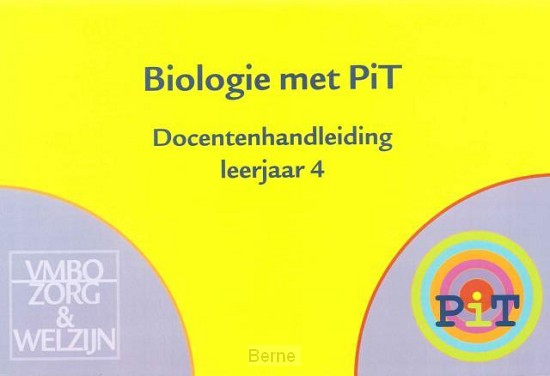 Biologie met PIT 4 Docentenhandleiding