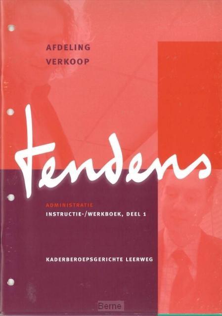 Tendens administratie / Afdeling verkoop / Instructie-/werkboek