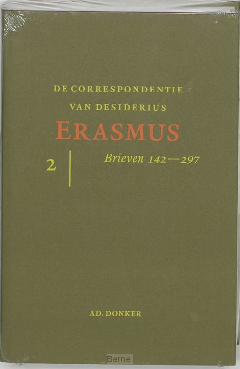 De correspondentie van Desiderius Erasmus / 2 Brieven 141-297