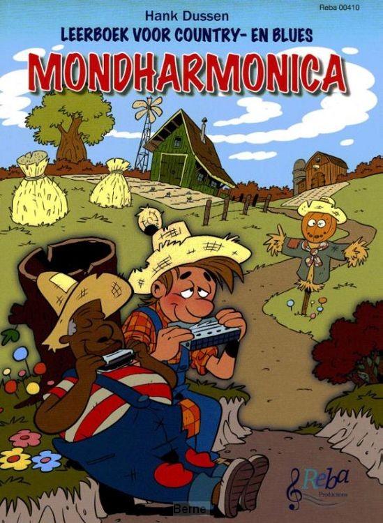Leerboek voor country- en bluesmondharmonica