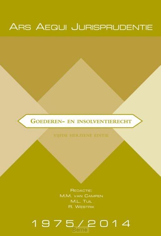 Jurisprudentie Goederen- & insolventierecht 1975-2014