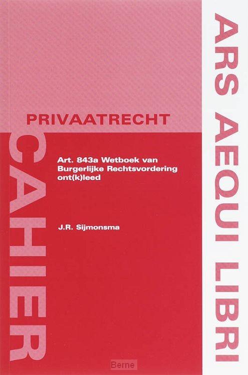 Art. 843a Wetboek van Burgerlijke Rechtsvordering ont(k)leed