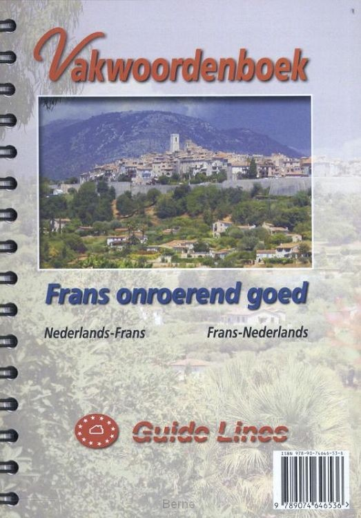 Vakwoordenboek / Frans onroerend goed
