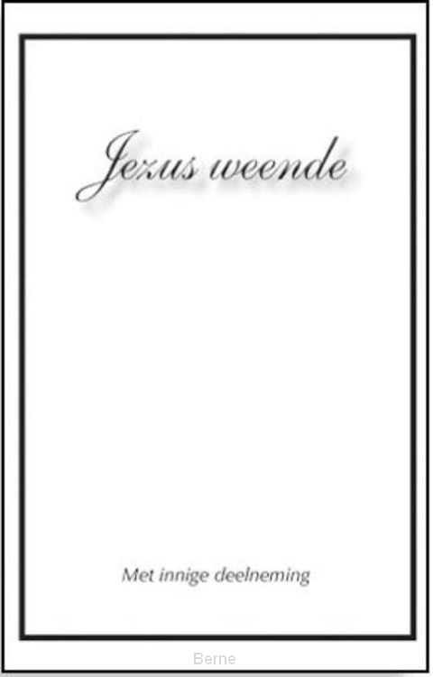 Jezus weende