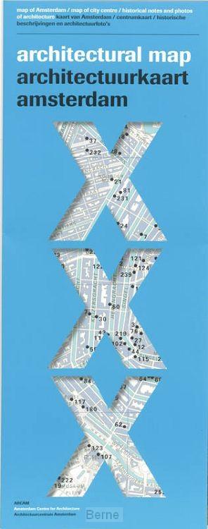 Architectuurkaart Amsterdam = Architectural map Amsterdam