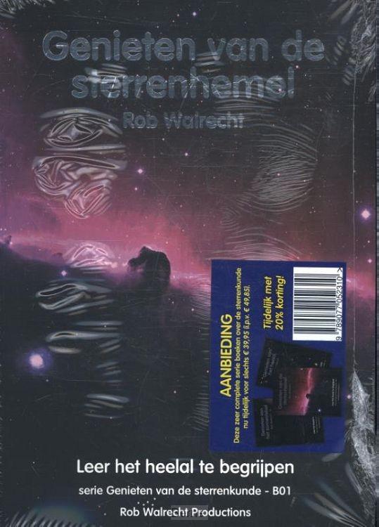Set 4 Complete set boeken Genieten van de sterrenkunde