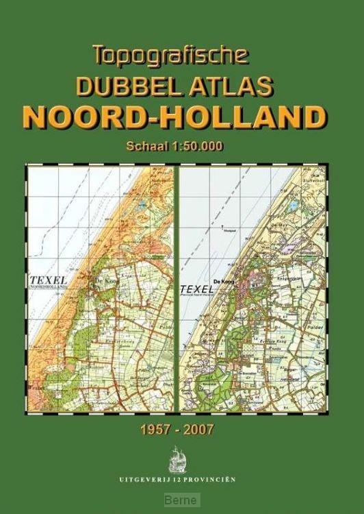 Topografische Dubbelatlas Noord-Holland