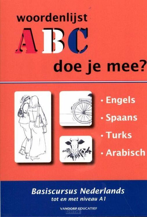 1.Engels, Spaans, Turks, Arabisch / ABC