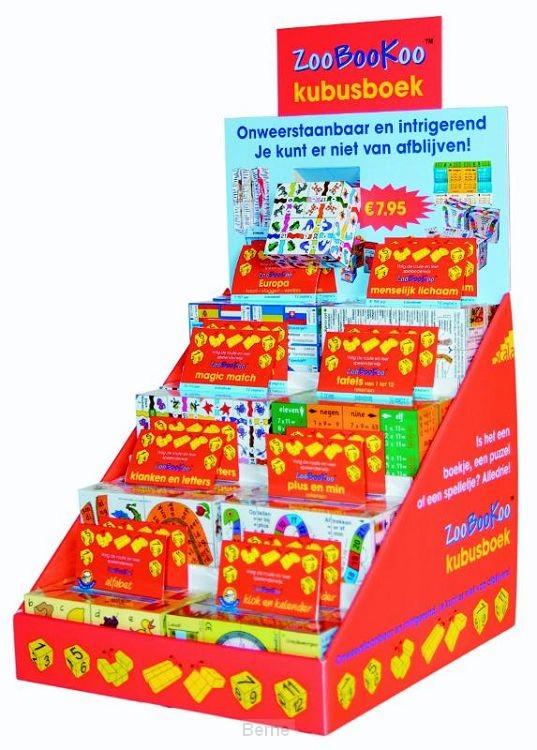 Display ZooBooKoo Kubusboeken