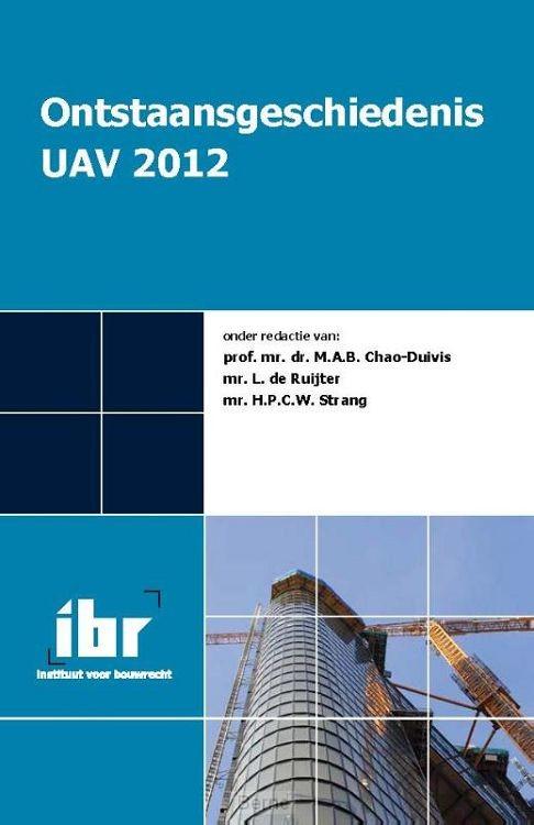 Ontstaansgeschiedenis UAV 2012