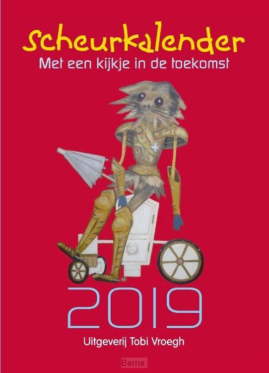 Scheurkalender met een kijkje in de toekomst / 2019