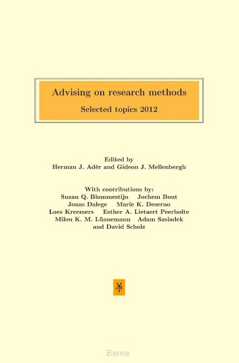 Advising on research methods