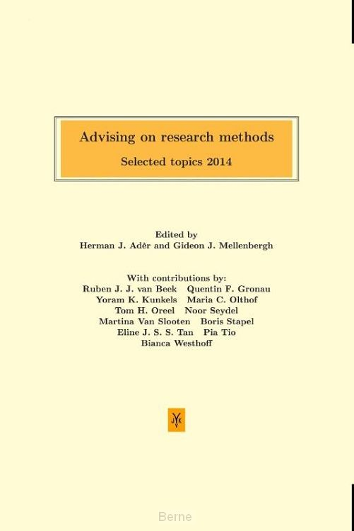 Advising on research methods / 2014