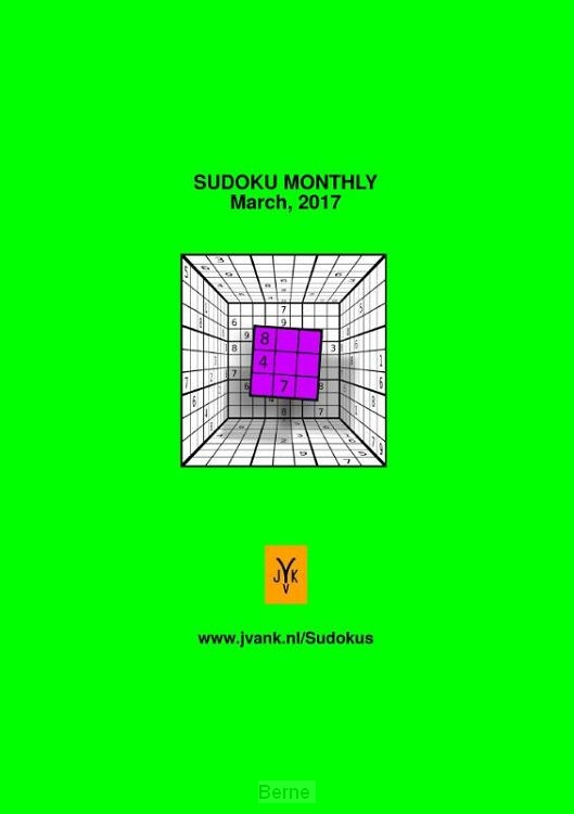 Sudoku monthly / march, 2017