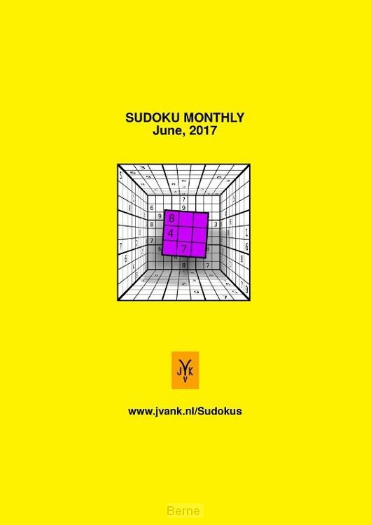 Sudoku monthly / June 2017