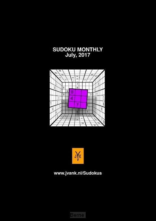 Sudoku Monthly (July 2017)
