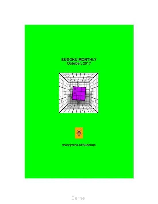 Sudoku Monthly (October 2017)
