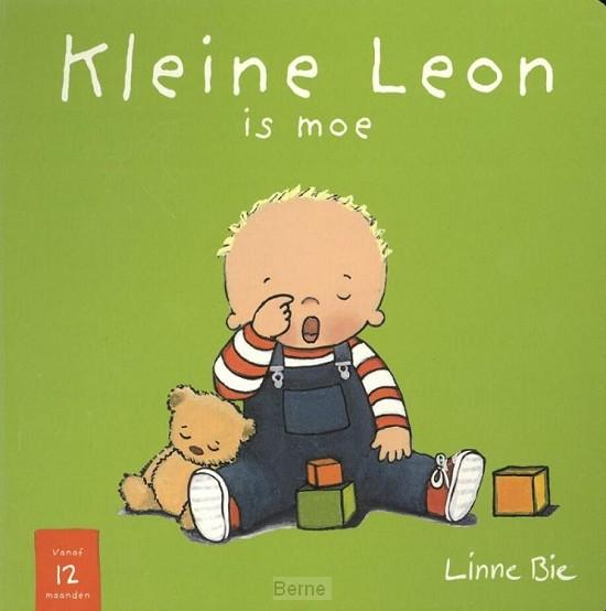 Kleine Leon is moe