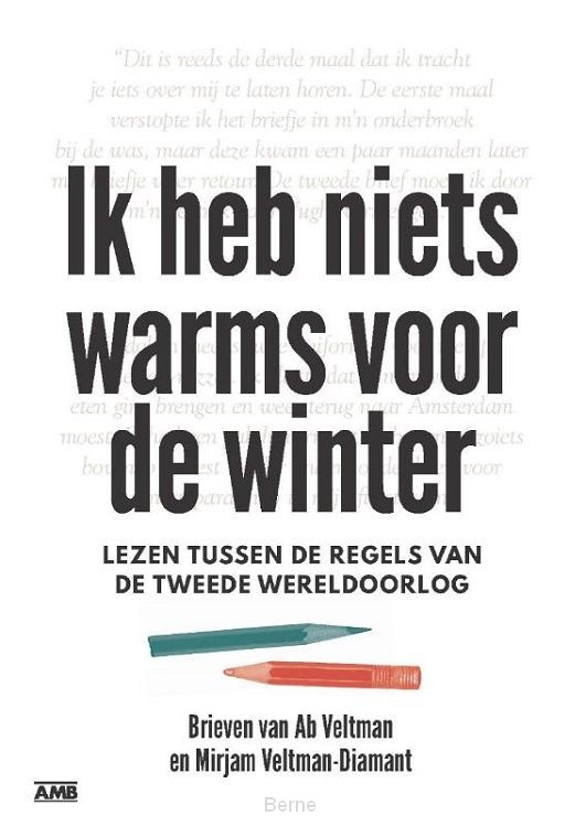 Ik heb niets warms voor de winter