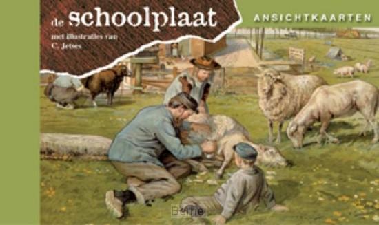 Ansichtkaarten, de Schoolplaat / Het Volle Leven