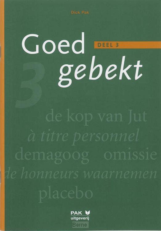 3 / Goed gebekt / Leerlingenboek