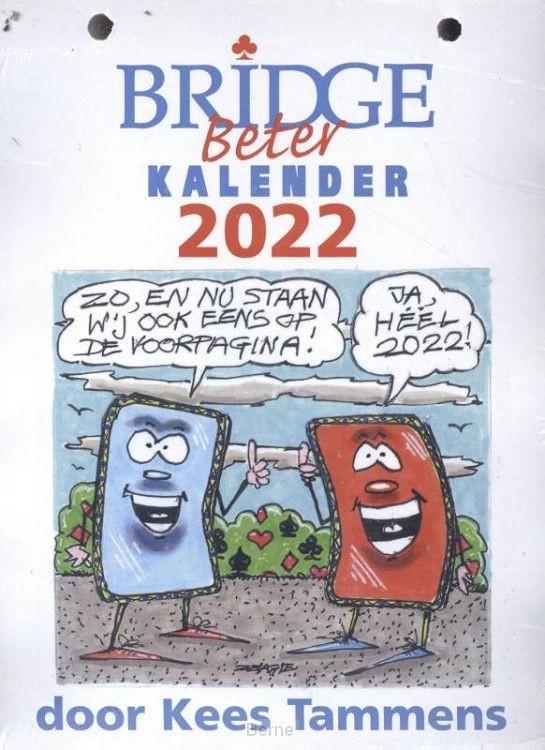 Bridge Beter kalender / 2022