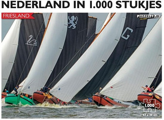 Nederland in 1.000 stukjes - Skûtsjesilen - Puzzeltijd