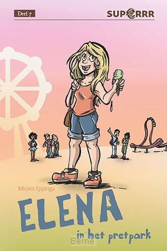 Elena in het pretpark
