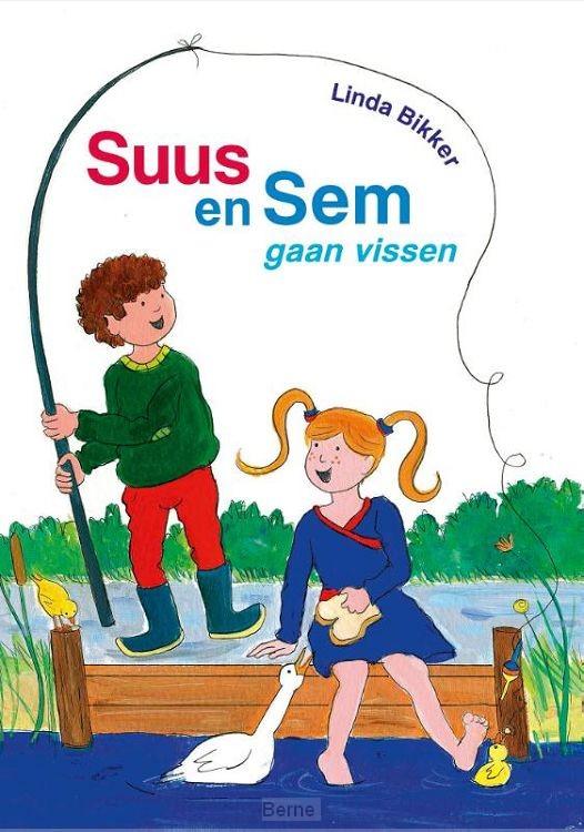 Suus en Sem gaan vissen