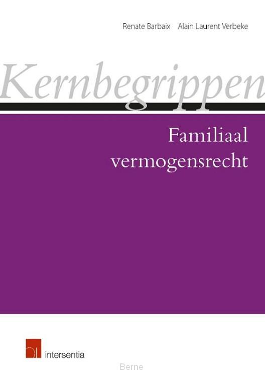 Kernbegrippen familiaal vermogensrecht