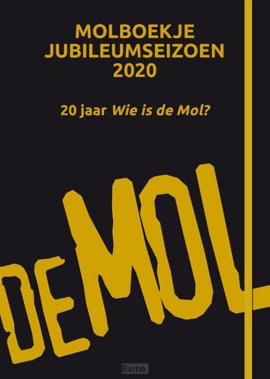 Wie is de Mol? - Molboekje jubileumeditie 2020