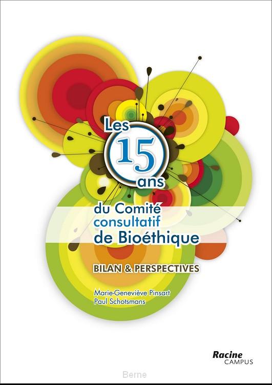 Les 15 ans du comite consulatief de bioethique