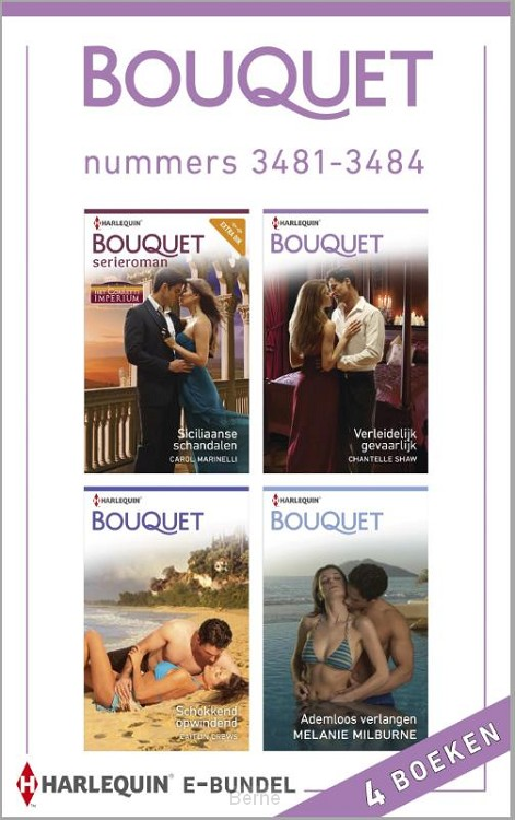 Bouquet e-bundel nummers 3481-3484 (4-in-1)