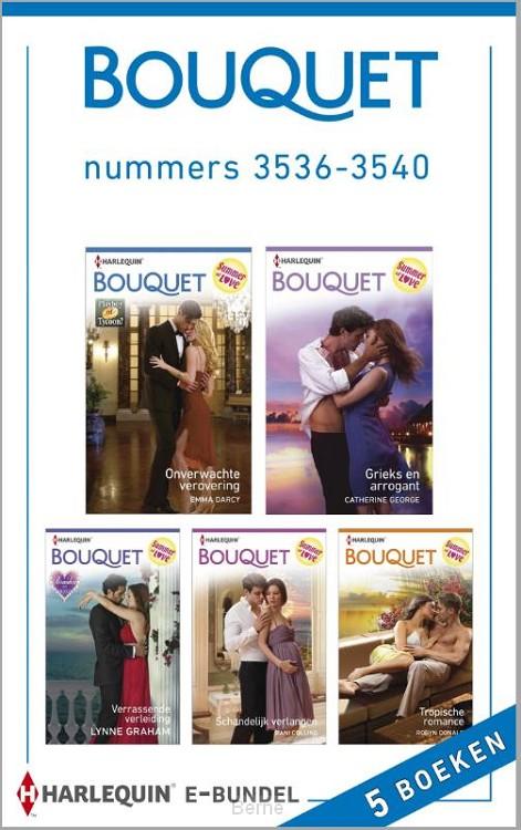 Bouquet e-bundel nummers 3536-3540 (5-in-1)
