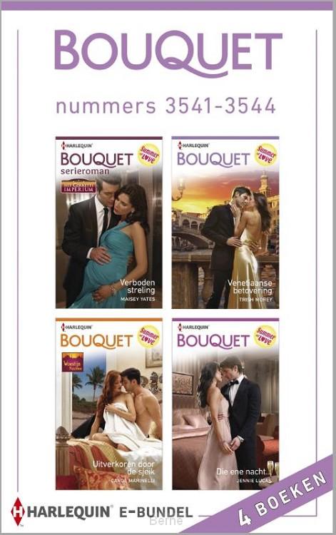 Bouquet e-bundel nummers 3541-3544 (4-in-1)