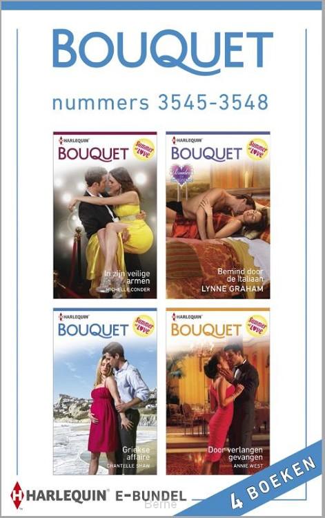 Bouquet e-bundel nummers 3545-3548 (4-in-1)