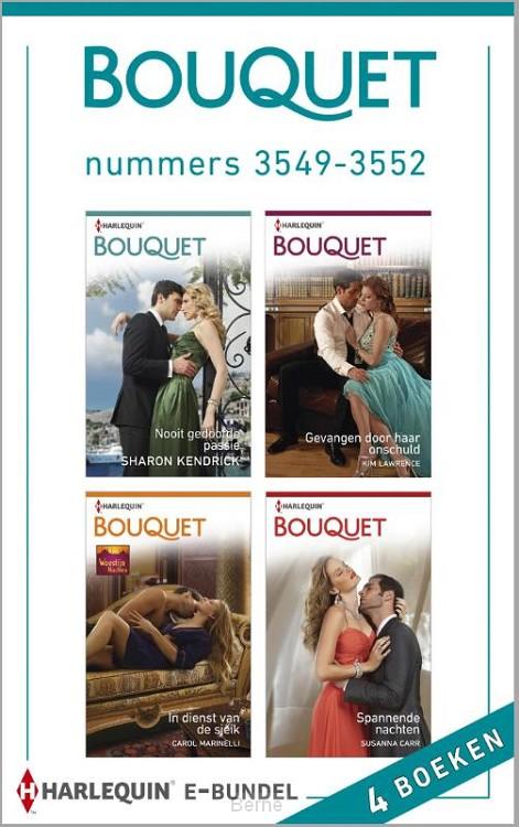 Bouquet e-bundel nummers 3549-3552 (4-in-1)
