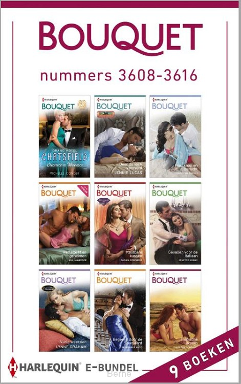 Bouquet e-bundel nummers 3608-3616 (9-in-1)