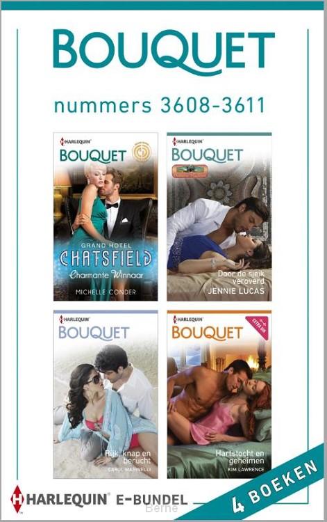 Bouquet e-bundel nummers 3608-3611 (4-in-1)