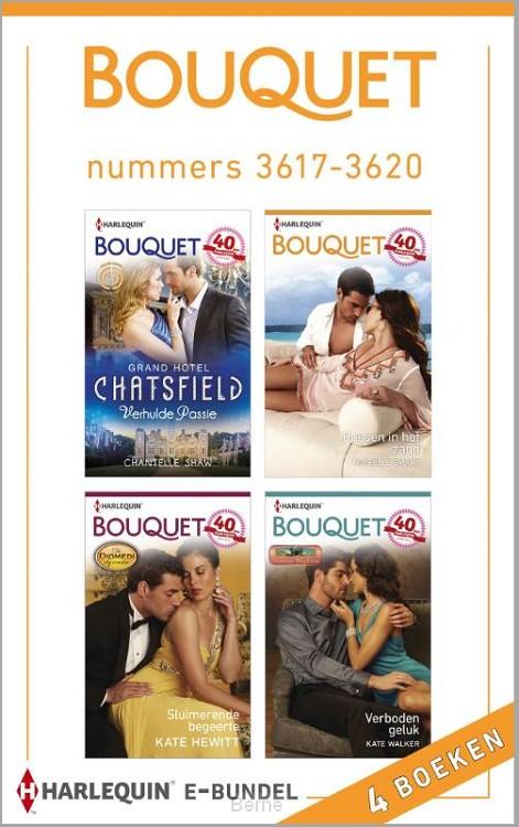 Bouquet e-bundel nummers 3617-3620 (4-in-1)