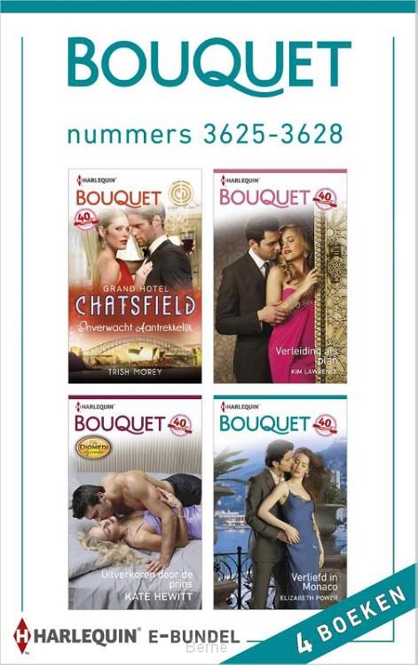 Bouquet e-bundel nummers 3625-3628 (4-in-1)