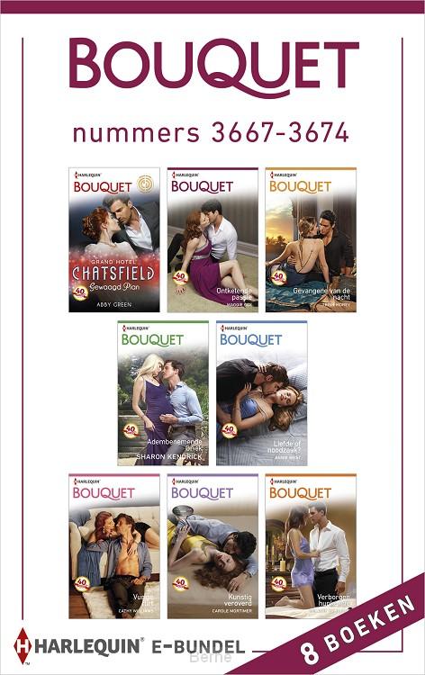 Bouquet e-bundel nummers 3667-3674 (8-in-1)
