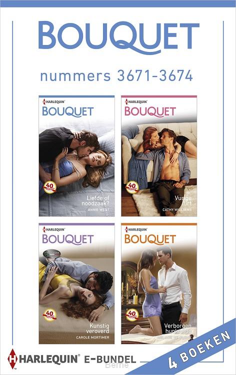 Bouquet e-bundel nummers 3671-3674 (4-in-1)