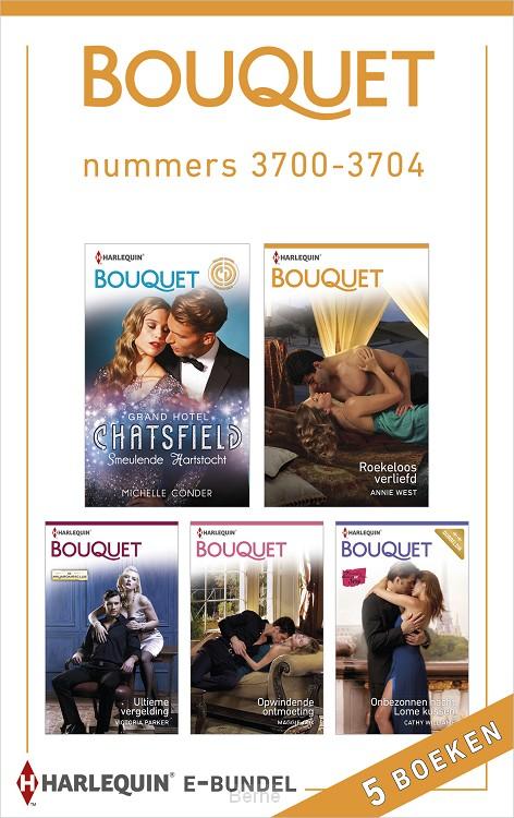 Bouquet e-bundel nummers 3700-3704 (5-in-1)