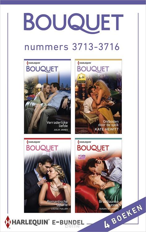 Bouquet e-bundel nummers 3713-3716